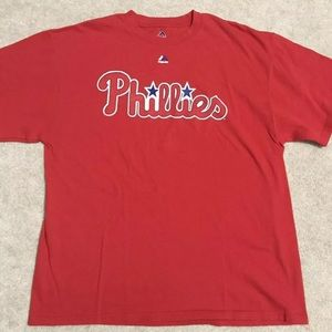 Men's XL Philadelphia Phillies T-Shirt NWOT